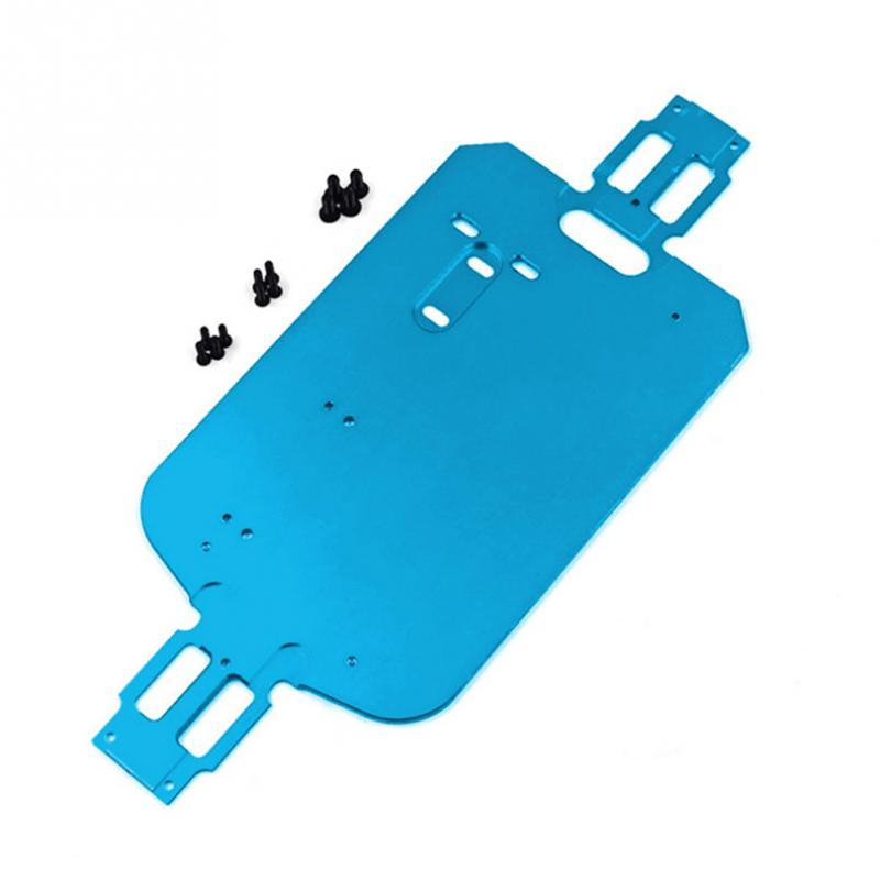 <font><b>1/18</b></font> Rc Car Blue 4Wd Car Metal Chassis Parts Chassis for Wltoys A949 A959-B A969 A979 K929 Rc Car <font><b>Accessories</b></font> image