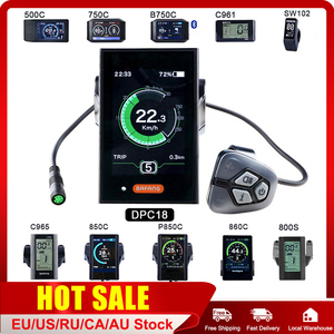 BAFANG 8fun LCD 750C 850C DPC18 C965 C961 500C SW102 DPC07 KD718 wyświetlacz dostępne na rower elektryczny BBS02B BBS01B i BBSHD