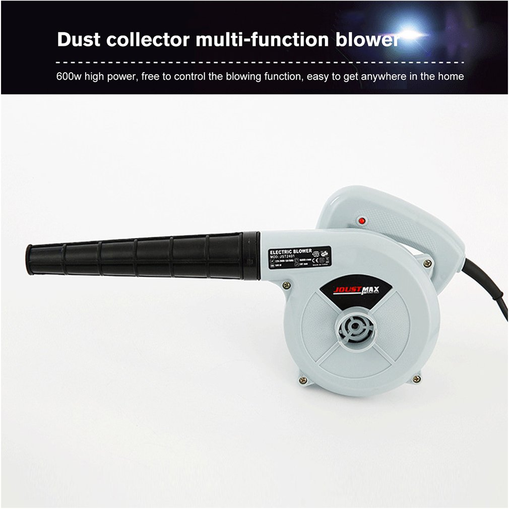 600W 220V-240V Electric Air Blower Vacuum Cleaner Blowing Dust Collecting 2 In 1 Computer Dust Collector Cleaner