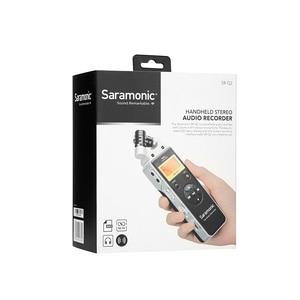 Image 5 - Saramonic SR Q2 Q2M שימושי וידאו אודיו מקליט DSLR למצלמות Smartphone סטריאו מיקרופון ראיון הקלטת מיקרופון