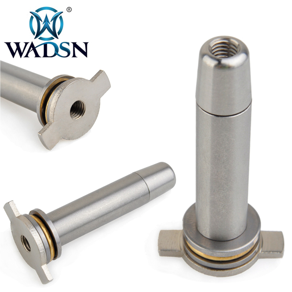 WADSN Tactical Military Action Vortex Spring Guide Bearing Aluminum Airsoft Spring Guide For Ver.3 PO03007 Paintball Accessories