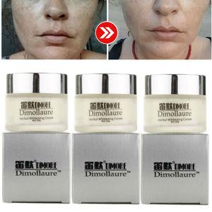 Image 1 - Dimollaure Herbal Whitening Freckle Cream Removal Melasma Pigment Melanin Pregnant Scar Dimore Face Cream