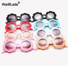 WarBlade-lunettes De soleil pour enfants, rondes en fleurs, verres De Sport, pour garçons et filles, UV400, nouvelle collection