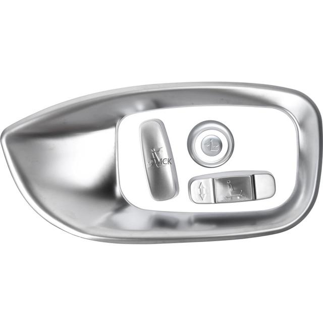 Car Accessories Seat Adjustment Button Frame Trim Decorative Cover Stickers For Jaguar F-Pace f pace X761 XE X760 XF/XFL X260 5
