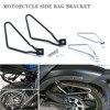 Bolsa lateral para motocicleta, soporte para SILLÍN, bolsa de equipaje lateral, para Davidson Xl883 # N