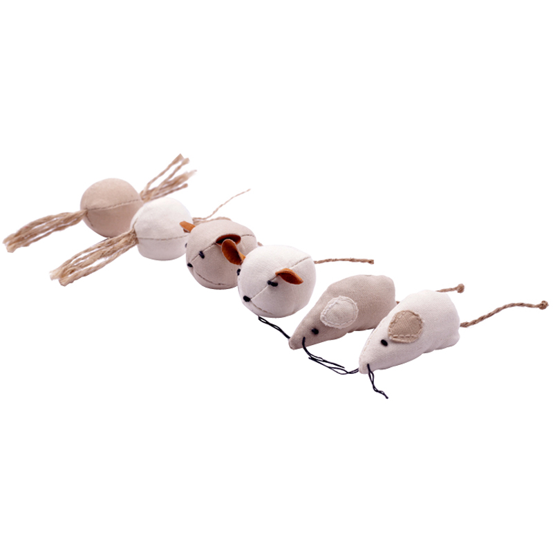Cat Toy Kitten Paw Grinding Xiao Mao Simulation Mice Christmas Pet Toys Cat Toys Interactive Mouse for Cat Cat Supplies in Cat Toys from Home Garden