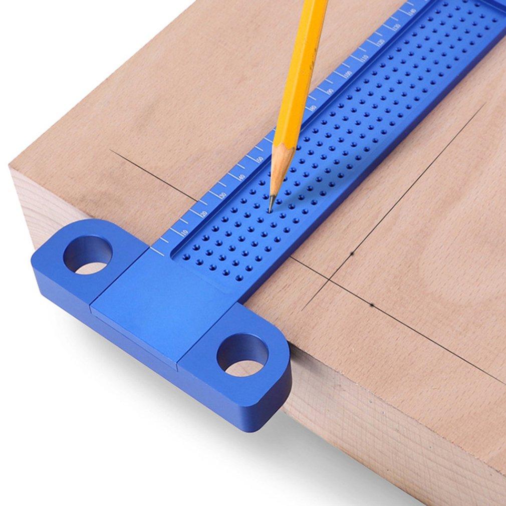 buraco scribing calibre cruzou os pés para fora ferramenta de medição