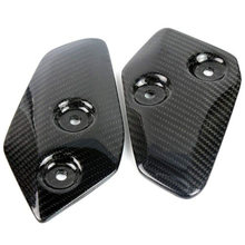 for Yamaha MT-07 MT07 FZ07 MT 07 2013-2017 Motorcycle Accessories Carbon Fiber Foot Rests Protection Guard Cover Protector(China)