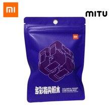 Xiaomi Mitu, caja de bloques de construcción colorida antiestrés, cubo giratorio, siete sorpresa, bloques de construcción, juguete de rompecabezas de ensamblaje, 2019 nuevo