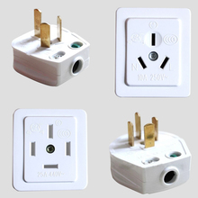 10A/16A/25A 250V/440V Three Phase Four Wire And Single Phase Three Pole DIY Industrial Power Plug Socket Surface Mount Outlet