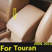 Чехол из микрофибры с центральным подлокотником для Volkswagen Touran 2006 -2010 2011 2012 203 2014 2015 чехол с центральным подлокотником