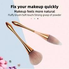 Single small waist makeup brush Foundation Powder Face Brush Professional Cosmetics Make Up Tools недорого