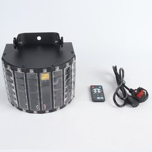 DJ Butterfly Lights Stage Lights MultiColors LED Wide Beam by IR Remote Control for Party Stage Lighting Metal Casi