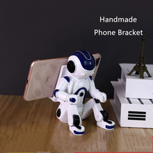 Phone-Bracket Astronaut White-Color Fashion Resin Home-Decoration