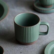 Teacup Espresso Ceramics Coffee Milk-Mugs Cafe Drink-Water Retro Japan-Style High-Temperature-Resistance