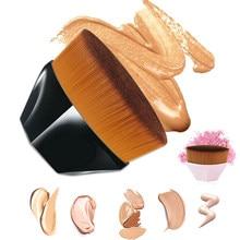 Six Corners Makeup Brush Kabuki Flawless Foundation Brush For Liquid Make Up Brush Set Cosmetic Soft Synthetic For Women Makeup