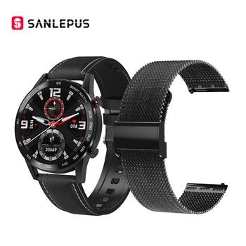 2020 SANLEPUS ECG Smart Watch Bluetooth Call Smartwatch Men Women Sport Fitness Bracelet Clock For Android Apple Xiaomi Huawei 24