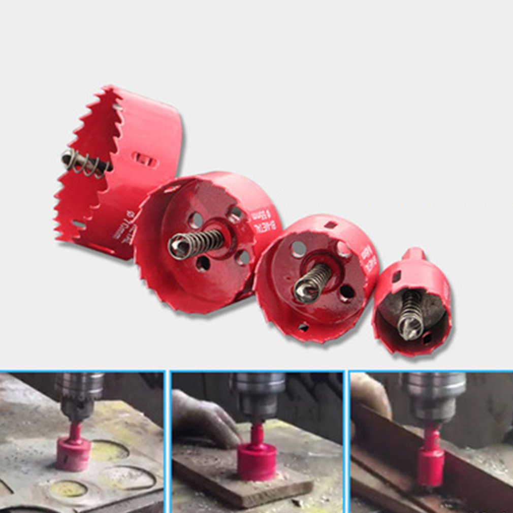 Universal M42 Bi-metal Hole Saw Purpose Hole Saw Steel Iron Wood Plastic Hole Opener Underreamer Pipeline Perforator