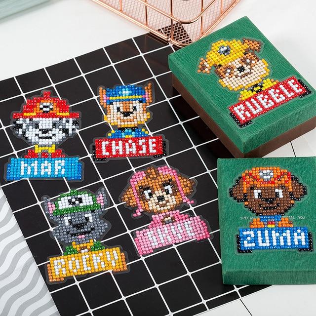 Kits de peinture diamant 5D bricolage | Mini, kit de peinture diamant pour enfants, peinture par numéros, Puzzles autocollant en diamant pour Pocketbook, téléphone