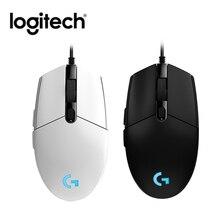 Logitech G102 Chuột Chơi Game Nút Có Thể Lập Trình 6000 Dpi RGB Có Dây Máy Tính Ngoại Vi Phụ Kiện