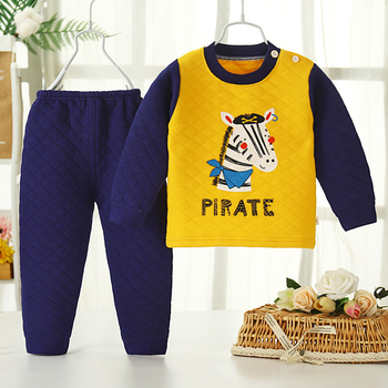 patricia johns montana mistletoe baby Children's Underwear Suit Boys Autumn Winter Keep warm Thicken Pajamas Kid Baby Clothes for Girls Pants Long Johns Clothing Sets