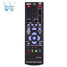 שלט רחוק חדש עבור LG Blu Ray DVD נגן AKB73615801 BD670 BD560 BD550 BD620 BP125 BP200 BP325