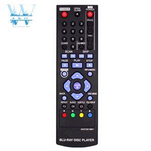 Image 1 - New Remote Control For LG Blu Ray DVD Player AKB73615801 BD670  BD560 BD550 BD620 BP125 BP200 BP325