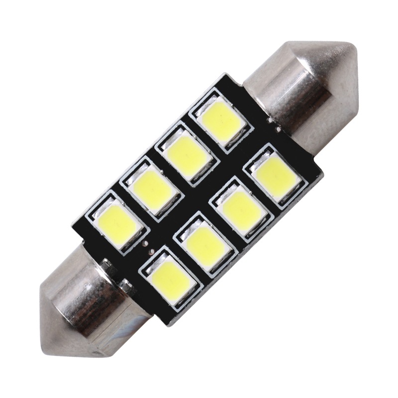 1x31mm 36mm 39mm 41mm voiture lumière LED C5W C10W 2835 SMD CANBUS Festoon Auto lampe ampoule intérieur lumières blanc glace bleu rose 12v