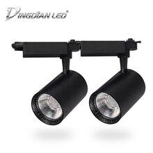 COB Spotlights Led Track Light 20W 30W Spot AC220V LED Rail for Home Supermarket Clothing Stores