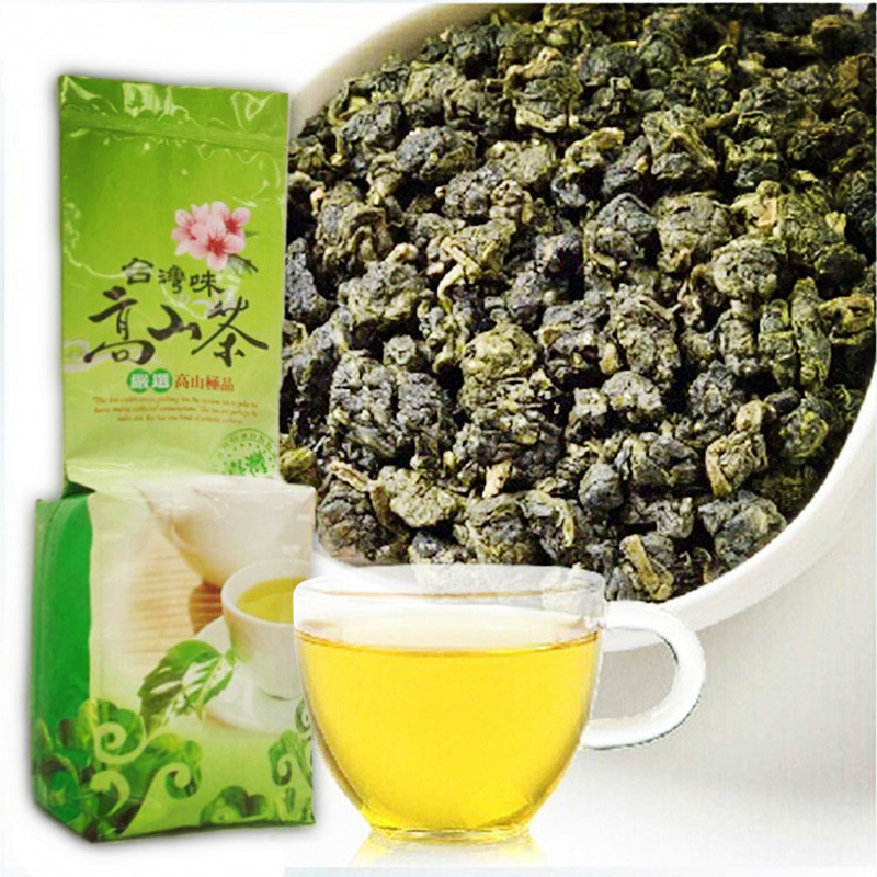Chinese Taiwan Milk Oolong Tea Beauty Weight Loss Lowering Blood Pressure High Mountains JinXuan Milk Oolong Tea Fresh Green
