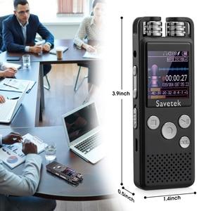 Image 5 - المهنية صوت تنشيط الصوت الرقمي مسجل صوتي 8 جيجابايت 16 جيجابايت 32 جرام USB القلم دون توقف 80hr تسجيل PCM دعم TF بطاقة