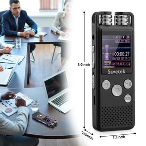 Image 5 - Professional Voice Activated Digital Audio Voice Recorder 8GB 16GB 32G USB Pen Non Stop 80hr Recording PCM Support TF Card