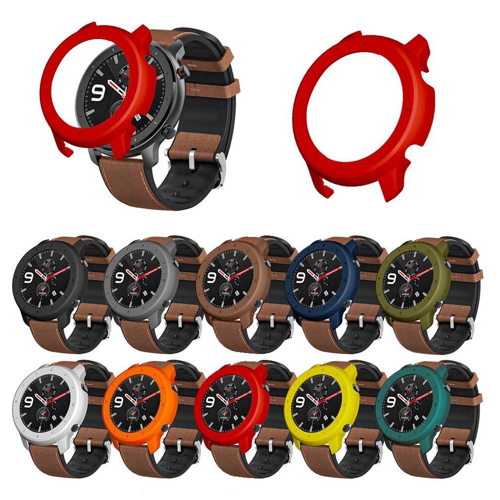 ТПУ Мягкий защитный чехол для Huami AMAZFIT GTR тонкий защитный экран чехол оболочка умные часы аксессуары бампер