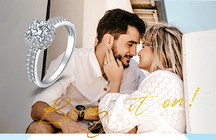 H0bc20309cfde40fbb93d0c1888afe58b9 JewelryPalace 1ct CZ Halo Engagement Ring 925 Sterling Silver Rings for Women Anniversary Ring Wedding Rings Silver 925 Jewelry