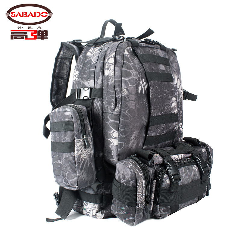Ultra-stretch Version Large Capacity Mountaineering Bag Outdoor Travel Backpack Riding Hiking Sports Bag Tactical Pack