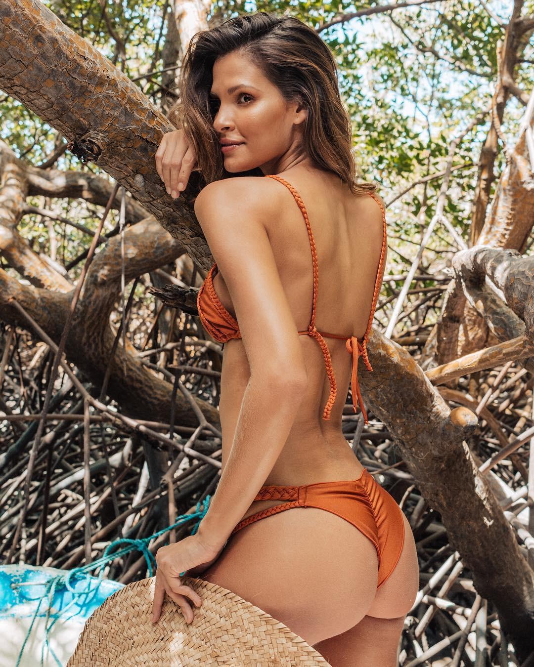 Suspender Thong Bikini