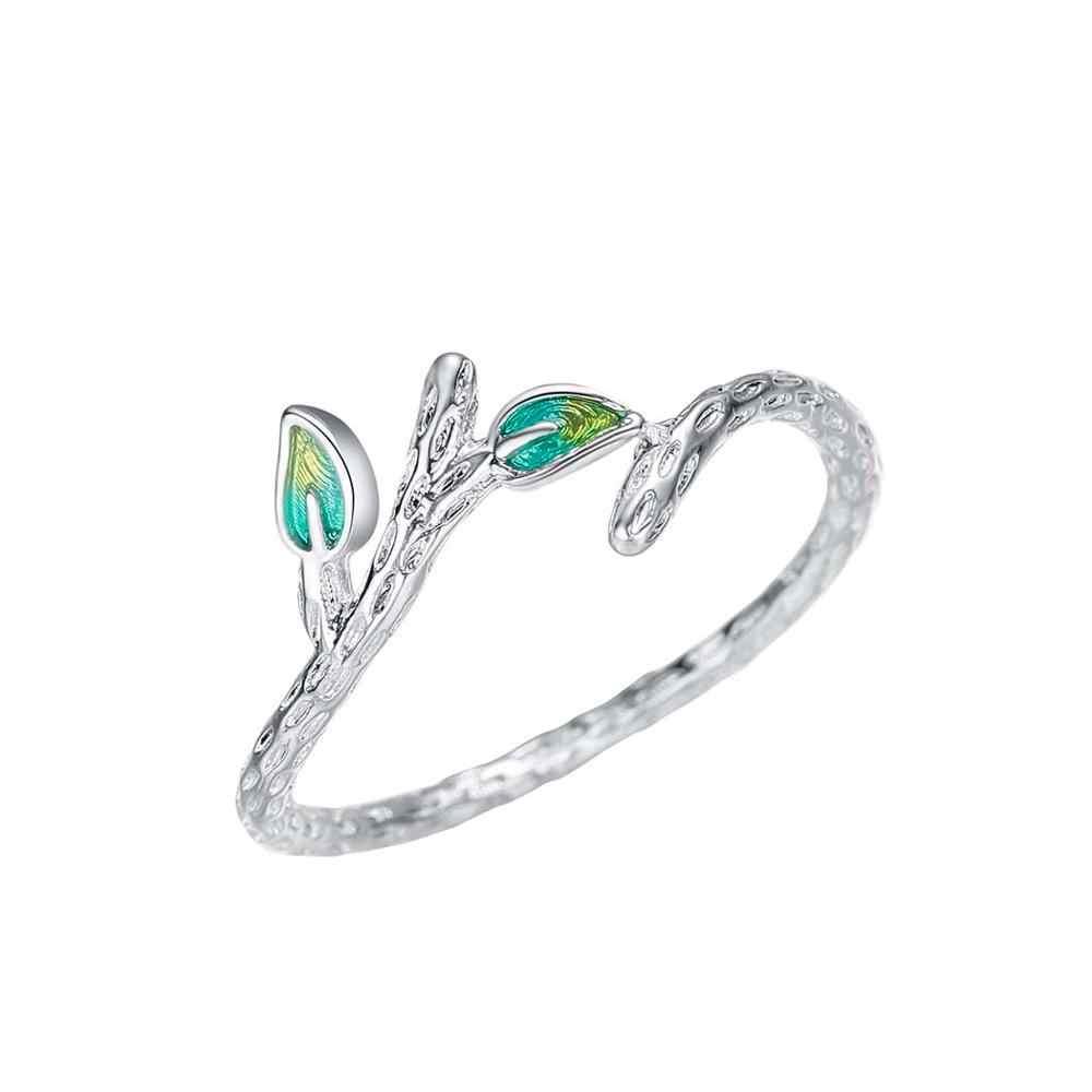 แฟชั่นเงินคริสตัลแหวนสำหรับผู้หญิงงานแต่งงานเครื่องประดับเกาหลี CZ Zircon หญิงที่ละเอียดอ่อน Boho แหวนของขวัญ