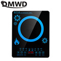 DMWD, бытовая электрическая индукционная плита 2200 Вт, водонепроницаемая черная кристальная панель, плита, электромагнитная плита