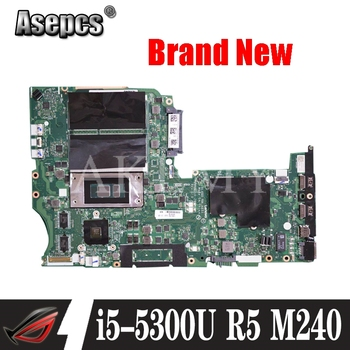 NM-A351 motherboard for Lenovo ThinkPad L450 notebook motherboard CPU i5 5300U R5 M240 2G DDR3 100% test work