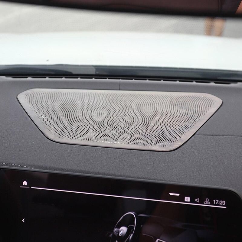 ステンレス鋼ダッシュボード中央コンソールスピーカーオーディオ Bmw の 3 シリーズ 2020 325li G38 車のインテリアアクセサリー
