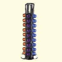 Практичный кофе капсулы дозирующая башня подставка подходит для 40 Nespresso капсулы для хранения Pod держатель soporte capsulas nespresso