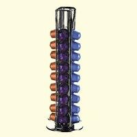كبسولات القهوة العملية الاستغناء برج حامل يناسب ل 40 كبسولات نسبرسو تخزين جراب حامل soporte capsulas نسبرسو