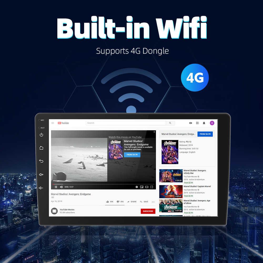 2 din Android 9.0 Ouad Core PX6 Auto Radio Stereo GPS Navi Audio Video Player PC Box Wifi BT HDMI AMP 7851 OBD DAB + SWC 4G + 32G