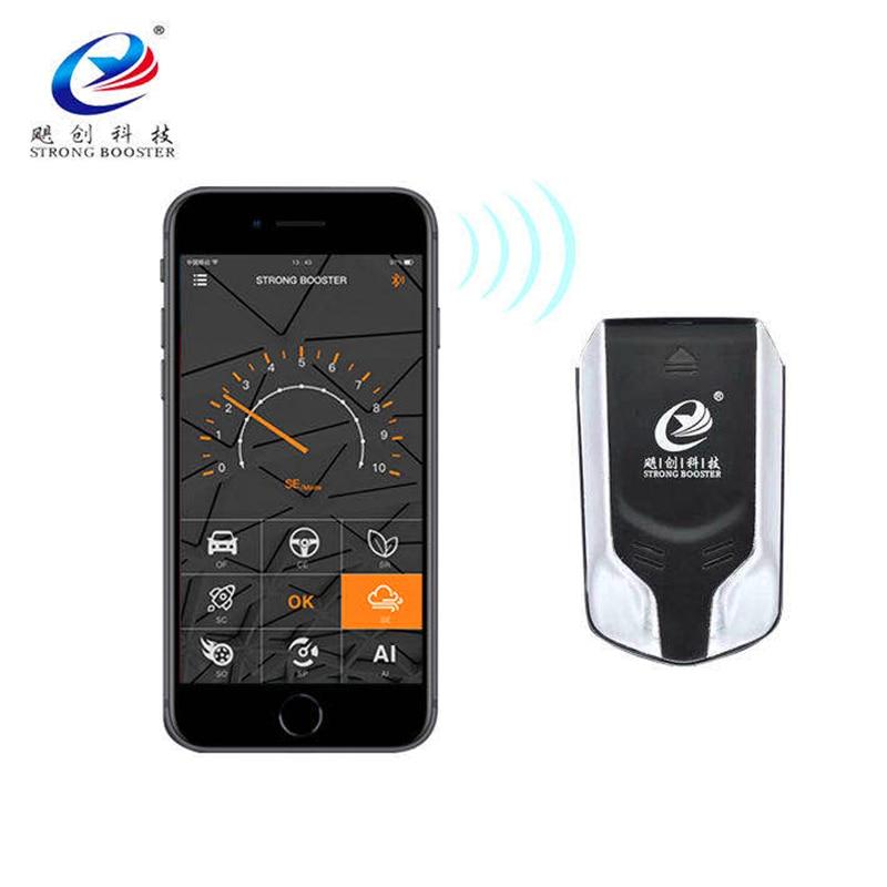 Auto Ai Samrt App Buletooth Pedaal Chiptruning Commander Elektrische Drive Throttle Controller Voor Amarok 2010-2018 Springbooster