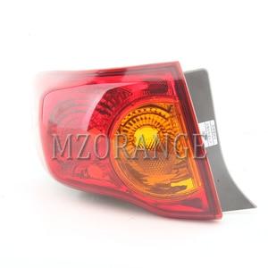 Image 2 - Mzorange amortecedor traseiro refletor luz para toyota corolla 2008 2009 2010 freio traseiro amortecedor da cauda luz montagem do carro