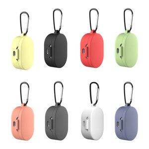 Image 2 - Custodia in Silicone Coperchio di Protezione Per Xiaomi Airdots TWS Auricolare Bluetooth Versione Giovanile Auricolare In Silicone Protettiva Caso Della Copertura