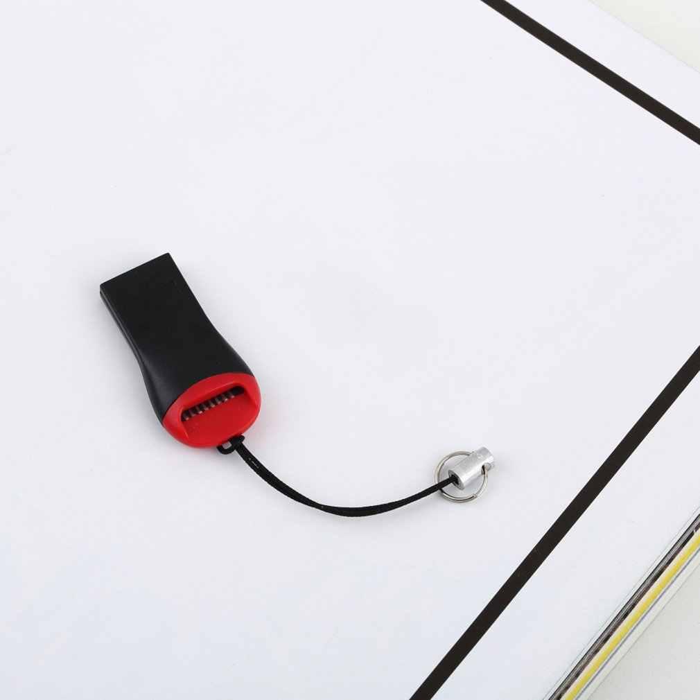 ¡Mejor precio! 2 uds USB 2,0 Micro SD SDHC tarjeta de memoria flash TF lector Mini adaptador para portátil 0,35