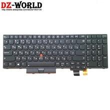 Neue/orig RU Russische Beleuchtete Tastatur für Lenovo Thinkpad T570 P51S T580 P52S Laptop Hintergrundbeleuchtung Russland Teclado 01ER605 01ER564