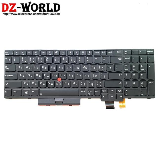 Yeni/orijinal RU rus için arkadan aydınlatmalı klavye Lenovo Thinkpad T570 P51S T580 P52S Laptop arka işık rusya Teclado 01ER605 01ER564