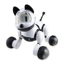DIMEI 9007A Интеллектуальный радиоуправляемый робот, игрушка для собаки, умная электрическая собака, детские игрушки, Радиоуправляемый Интеллектуальный робот, подарки на день рождения